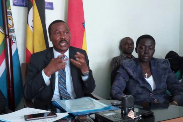 Muntu Picks Nomination forms, hands over office of Presidency