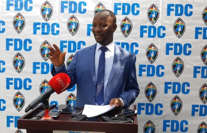 Forum for Democratic Change Rejects Digital Campaigns