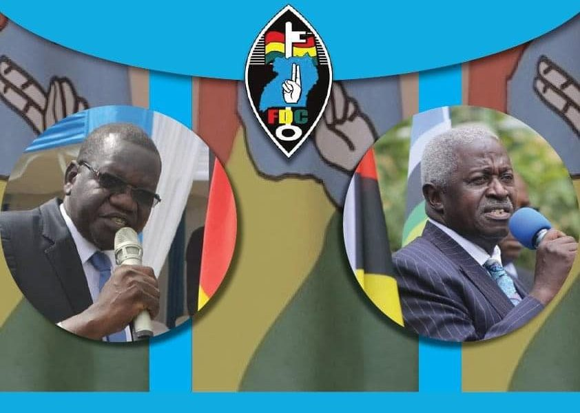 THE BATTLE FOR THE PARTY PRESIDENTIAL FLAG BEARER