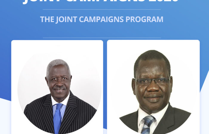 PARTY PRESIDENTIAL FLAG BEARER CAMPAIGN PROGRAM 2020-2021