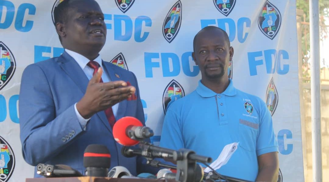 THE FDC BRIEFING AUGUST 31st 2020