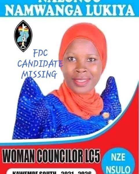 STATE ABDUCTION OF FDC LEADER AND KAWEMPE DIVISION COUNCILOR NAMWANGA LUKIA.