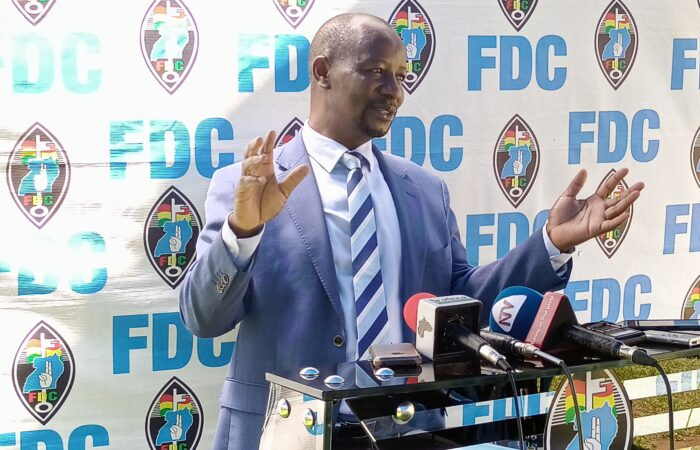 THE FDC PRESS BRIEFING MARCH 1st 2021